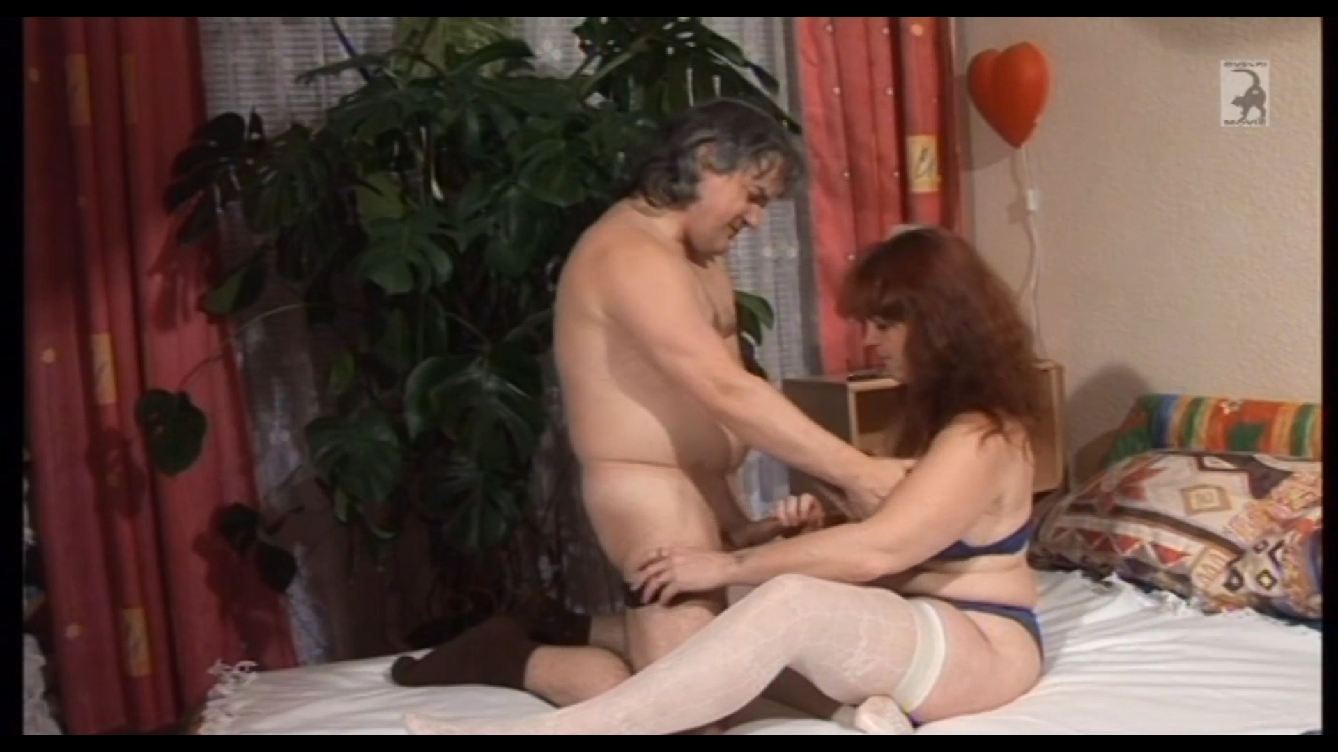 Amateur couple in the bedroom