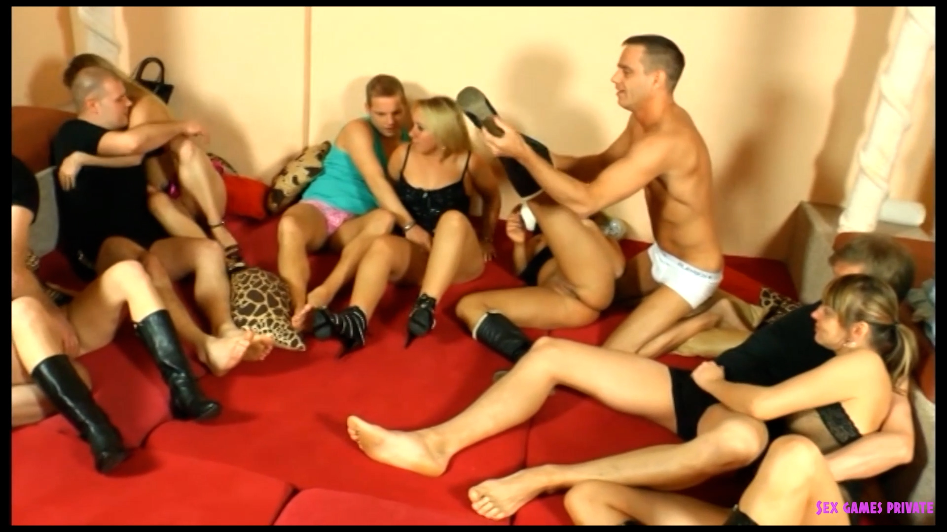 Kinky Swingers Orgy - part 1